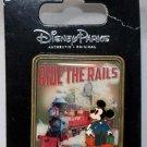 Walt Disney World Ride the Rails Mickey Mouse Pin