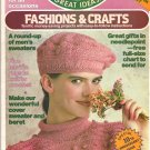 Family Circle Fashions and Crafts Magazine July 1984 Issue - 58 Projects