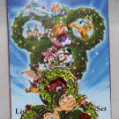 Disney Happy Holidays 2014 Wreath Mystery Collection Prep and Landing Pin Limited Release
