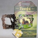Disney Bambi 75th Aniversary Bambi and Mother Hinged Pin Limited Edition 3000