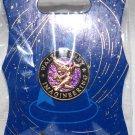 Walt Disney Imagineering WDI Gold Sorcerer Mickey Pin Purple Background
