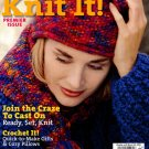 Better Homes and Gardens Knit It Magazine Premier Issue 2002 - 37 Projects