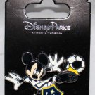Disney Parks Mickey Mouse Plays Soccer for the L.A. Galaxy Pin