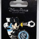Disney Parks Mickey Mouse Plays Soccer for the NYC Football Club Pin
