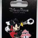Disney Parks Mickey Mouse Plays Soccer for the Toronto FC Pin