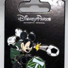 Disney Parks Mickey Mouse Plays Soccer for the Portland Timbers Pin
