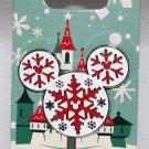 Disney Parks Mickey Icon Snowflakes Pin