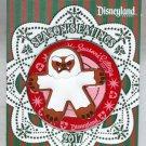 Disneyland Season's Eatings 2017 Gingerbread Cookie Pin Matterhorn Yeti Ltd Edition 3000