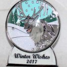 Disney Winter Wishes 2017 Snow Globe Pin Sven Completer Limited Edition 1000