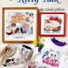 American School of Needlework Cross Stitch Kitty Talk Booklet 20 Designs