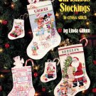 American School of Needlework Christmas Stockings to Cross Stitch Booklet 11 Designs