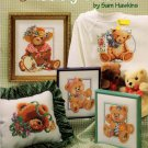 American School of Needlework Cross Stitch Teddy Bears Booklet 11 Designs