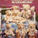 American School of Needlework Thread Crochet Teddy Bear Wardrobe 7 Designs in 3 Sizes