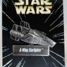 Disney Star Wars Pin of the Month Vehicles A-Wing Starfighter Limited Edition 6000