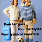 Pingouin Knitting Magazine Number 129 Winter 1990-91 - 34 Couture Designs