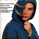 Pingouin Knitting Magazine Number 139 Winter 1991 - 32 Couture Designs