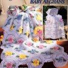 American School of Needlework Crochet Huggy Snuggy Baby Afghans 6 Easy Designs