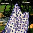 American School of Needlework Crochet Afghans from Nature 5 Designs
