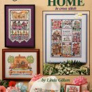 American School of Needlework Count the Ways to Say Home in Cross Stitch 13 Designs