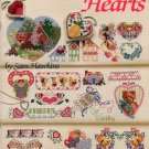 American School of Needlework 50 Cross Stitch Hearts by Sam Hawkins