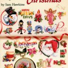 American School of Needlework 50 Cross Stitch Christmas by Sam Hawkins