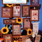 Alma Lynne Designs Country Button Samplers - 12 Designs to Cross Stitch