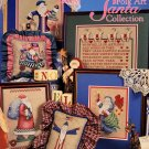Alma Lynne Designs Folk Art Santa Collection - 6 Large Designs to Cross Stitch