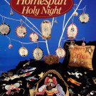 Alma Lynne Designs Homespun Holy Night - 5 Cross Stitch Designs, 9 Embroidered Ornaments