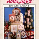 Alma Lynne Designs Down Santa Claus Lane - 31 Designs to Cross Stitch