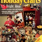 Better Homes and Gardens Holiday Crafts Magazine 1990 - 125 Projects