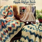 American School of Needlework Knit and Crochet The Ultimate Ripple Afghan Book 25 Designs