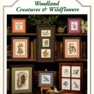 Just Cross Stitch Woodland Creatures and Wildflowers 13 Designs