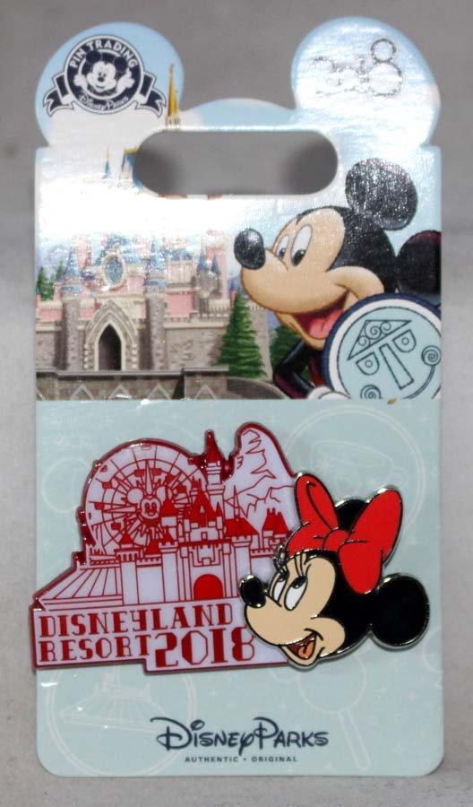 Disneyland Resort 2018 Pin Minnie Mouse