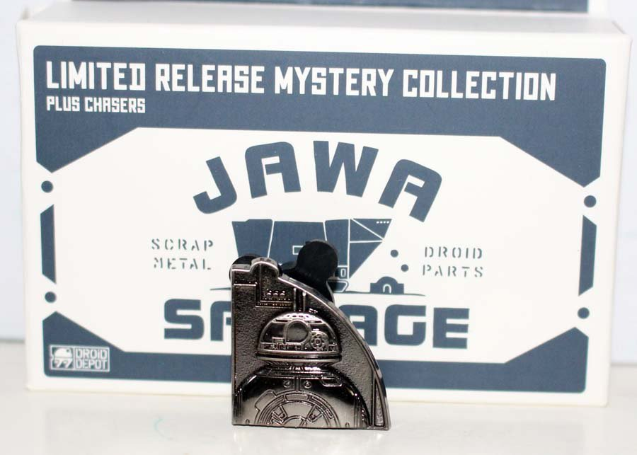 Disneyland Star Wars Galaxy's Edge Jawa Salvage Mystery Pin Chaser Number 2 Limited Edition 250