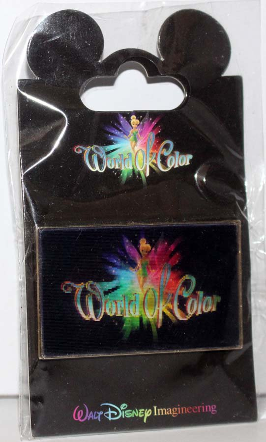 Walt Disney Imagineering WDI World of Color Lenticular Pin Cheshire Cat Limited Edition 300