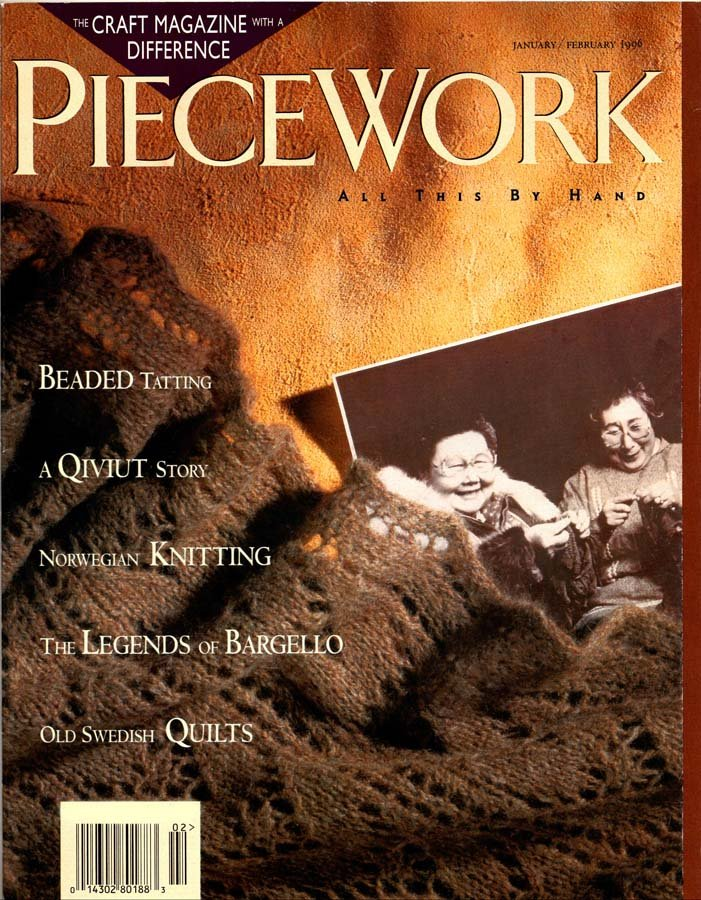 PieceWork Magazine January-February 1996