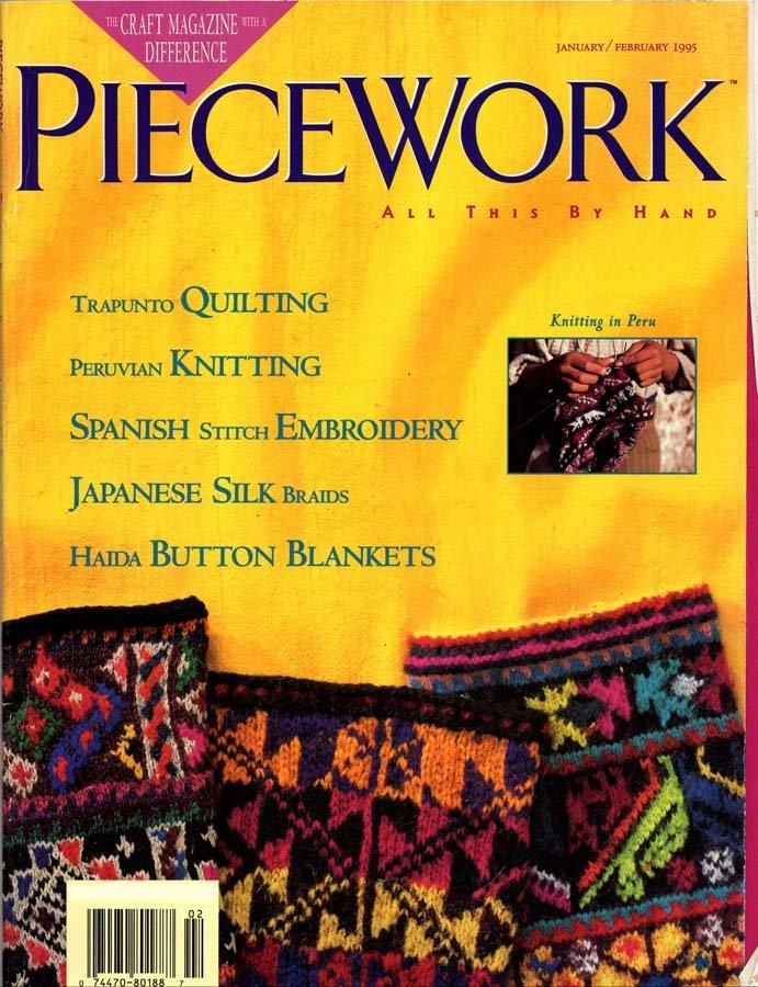 PieceWork Magazine January-February 1995