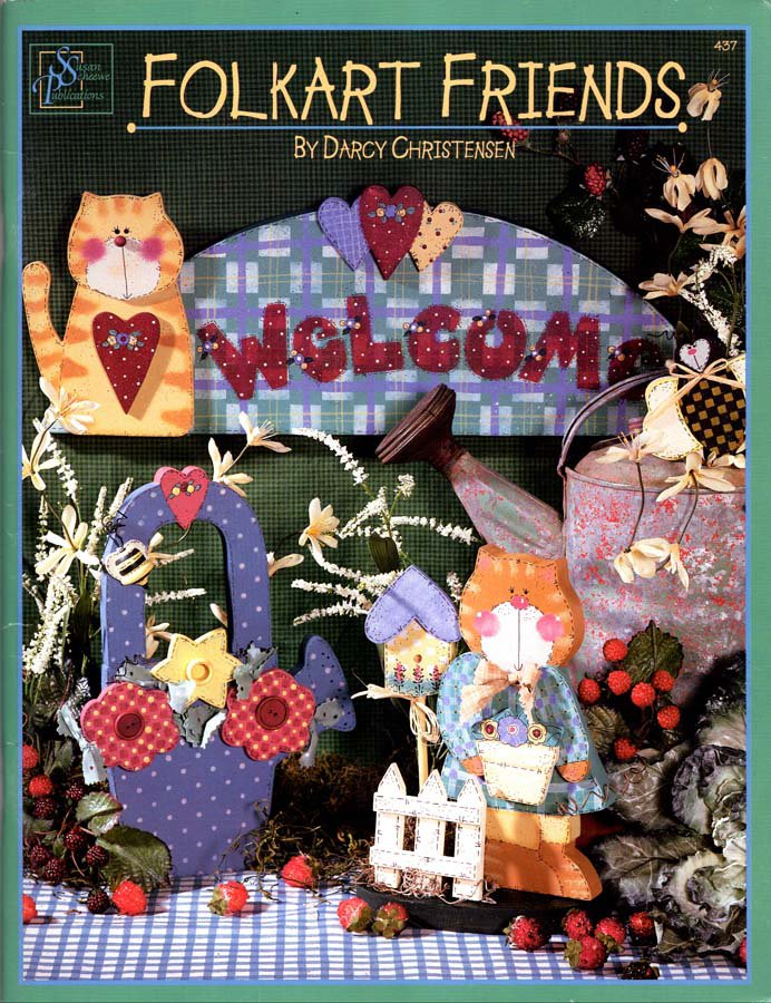 Folkart Friends Booklet 1998 - 28 Projects to Make from Wood and Paint