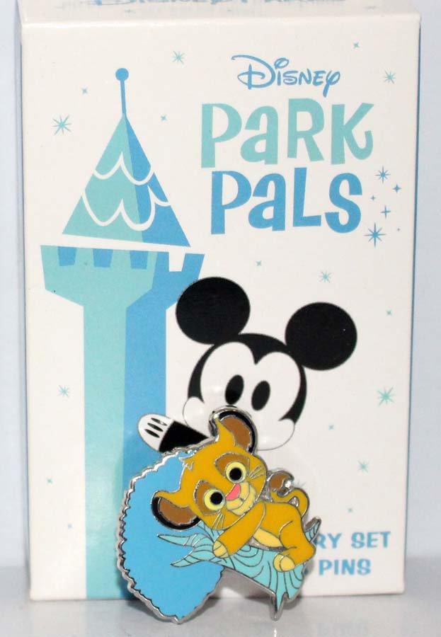 Disney Park Pals Mystery Set Pin Young Simba