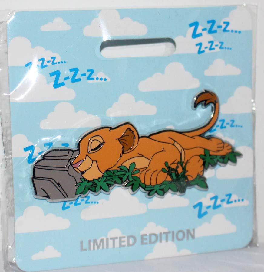 Walt Disney Imagineering WDI D23 Expo 2019 Cat Nap Jumbo Pin Nala Limited Edition 300