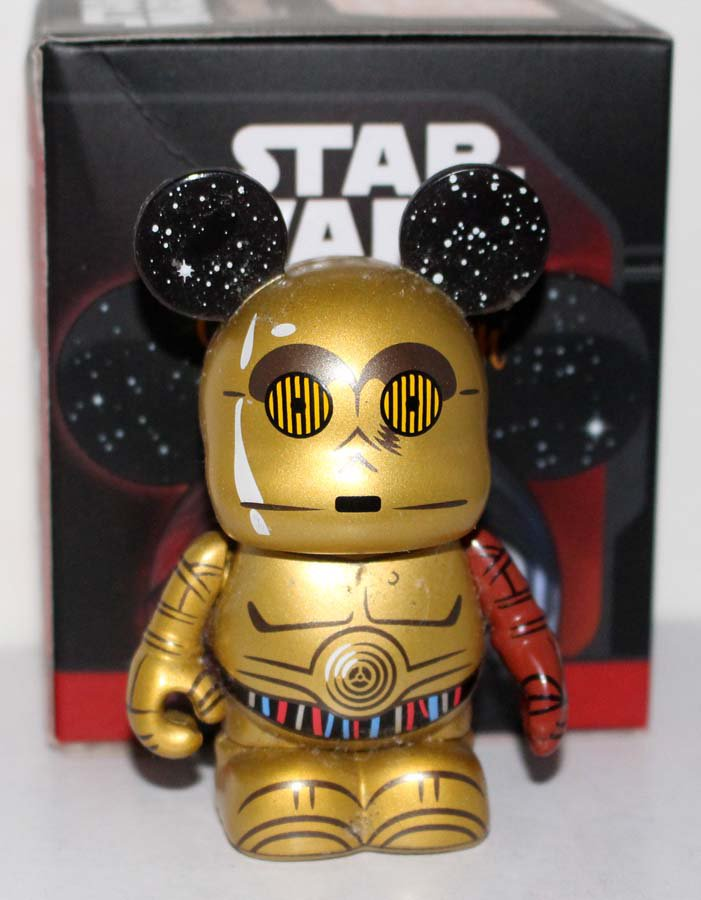 Disney Vinylmation Star Wars the Force Awakens Series 1 C-3PO Figure Limited Release