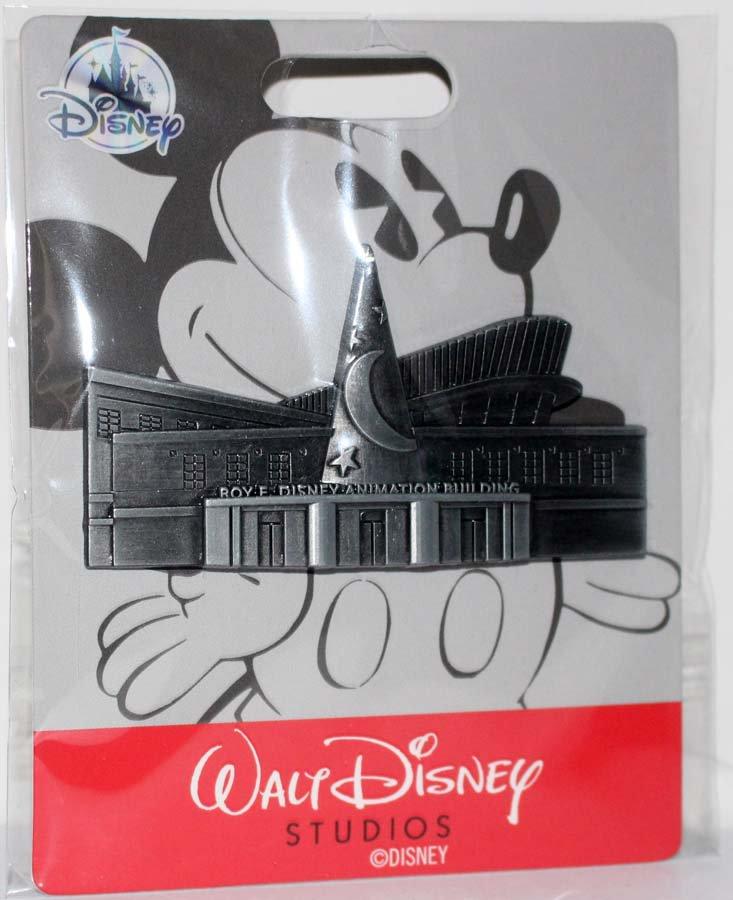 Disney Store Roy E Disney Animation Bulding Sculpted Pin