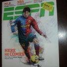 ESPN MAGAZINE June 2009 Lionel Messi