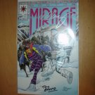 THE SECOND LIFE OF DOCTOR MIRAGE #2 AUTOGRAPHED by BERNARD CHANG & TONY BEDARD