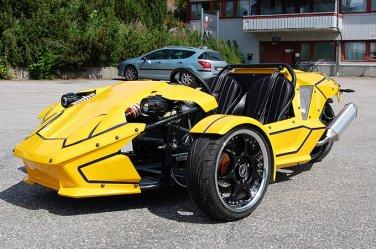 300cc Ztr Trike Roadster Price 1050usd
