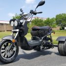 50cc Trike Mean Dogg II Scooter Gas Moped Price 750usd