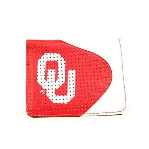 Oklahoma Sooners  NCAA Perf-ect  Team Colors & Logo Money/Card Wallet