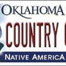 """NCAA Oklahoma Country Girl Vanity License Plate Tag 6x 12"""" Sports Metal Auto New"""
