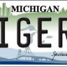"MLB Tigers Vanity License Plate Tag Detroit 6""x 12""  Metal Auto Car New Baseball"