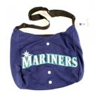 Seattle Mariners Jersey Tote Bag Blue Purse Shoulder Strap MLB Hernandez logo